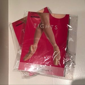 NWT GAYNOR MINDEN Light Pink Tights Size S